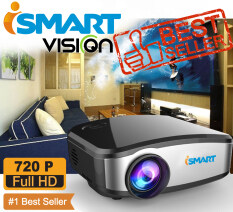 ขาย I Smart Mini Led Projecteur 800X480 Pixels 1200 Lumens Home Cinema Hdmi Usb Vga Av รุ๋นC6 Black I Smart ออนไลน์