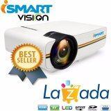 ขาย ซื้อ I Smart Mini Led Projector 1000 Lumens 800 480 Support 1080P Usb Hdmi Av Vga Sd Home Theater Pc