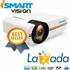 ราคา I Smart Mini Led Projector 1000 Lumens 800 480 Support 1080P Usb Hdmi Av Vga Sd Home Theater Pc ออนไลน์ พระนครศรีอยุธยา