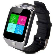 I-SMART Smart Watch Phone SimCard Call Sport and Healty (สีดำเงิน)