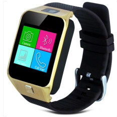 I-SMART Smart Watch สมาร์ทวอช SimCard Android Call Sport and Healty 09 (สีดำ/ทอง)