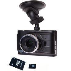 "I-SMART Special 2016 HD Car Camera HDMI WDR กล้องติดรถยนต์ FULL HD 3.0 พร้อม SD Card 32GB "" IS612 (สีดำ)"