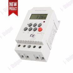ราคา I Unique Ac 220V 25A Din Rail Digital Programmable Electronic Timer Switch For Kg316T Ii Intl I Unique ไทย