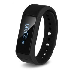 ขาย I5 Plus Smart Wristband Smart Band Bluetooth Running Tracker Intelligent Sports Smart Bracelet Fitness Wearable Waterproof Wristband Black Intl ถูก