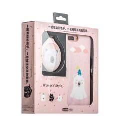 ราคา Ibacks Women S Style กระจก หวี และเคส Iphone 7สุด น่ารัก Ip70002Peachpuf ใหม่