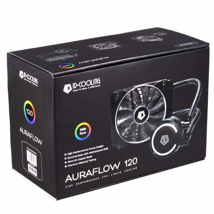 โปรโมชั่น ID-COOLING AURAFLOW 120 RGB ระบบระบายความร้อน CPU ด้วยน้ำ