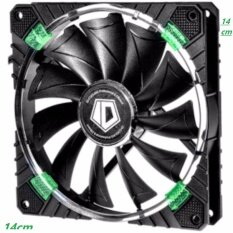 ID Cooling CF-14025 พัดลม เคส FAN CASE 14 cm LED FAN Concentric Circular สีเขียว