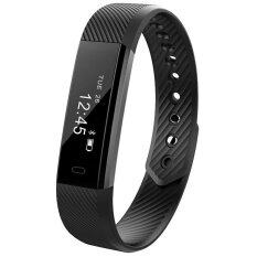 ขาย Id115 Bluetooth Android Smart Bracelet Pedometer Fitness Tracker Step Counter Smart Band Sleep Monitor Sport Wristband For Phone Intl ใหม่