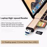 ขาย ซื้อ Ihub 10 3 In1 Otg Type C Card Reader Usb 3 Cardreader Usb A Micro Usb Combo To 2 Slot Tf Sd Type C Card Reader For Iphone Labtop Smart Phone กรุงเทพมหานคร