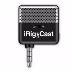 ความคิดเห็น Ik Multimedia Irig Mic Cast อุปกรณ์บันทึกเสียง ไมโครโฟนขนาดพกพาสำหรับสมาร์ทโฟน มี Apps ให้โหลดฟรี รองรับทั้ง Ios และ Android