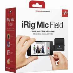 IK Multimedia รุ่น iRig Mic Field ไมโครโฟน Condenser ที่ให้คุภาพเสียงแบบ Stereo สามารถบันทึกเสียงในห้องขนาดใหญ่ได้อย่างสบายๆ