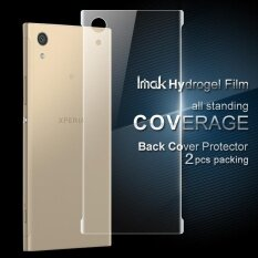 ซื้อ Imak 2 ชิ้นบรรจุกลับนุ่มไฮโดรเจลสำหรับ Sony Xperia Xa1 ออนไลน์ ถูก