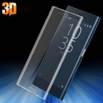 IMAK 3D ปกคลุมโค้งเต็มกระจกนิรภัยป้องกันหน้าจอสำหรับ Sony Xperia X ขนาดกะทัดรัด-นานาชาติ-