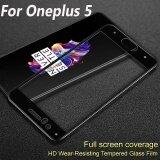 ซื้อ Imak Full Cover Tempered Glass For Oneplus 5 5 5 Screen Protector For Oneplus5 One Plus 5 Hd 9H Protective Glass Film Intl ถูก ใน จีน