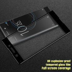 ซื้อ Imak Hd Full Size Tempered Glass Screen Protector For Sony Xperia Xa1 Black Intl ถูก