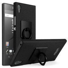 ซื้อ Imak Matte Hard Pc Case With Ring Kickstand For Sony Xperia Xa1 Ultra Black Intl ใน จีน