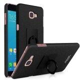 ซื้อ Imak ผู้ถือแหวนกรณีแข็งสำหรับ Samsung Galaxy A9 Pro 2016 A910 ฟิล์มหน้าจอ สีดำ ใน จีน