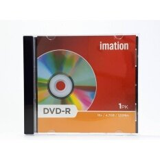 Imation Dvd-R 16x 4.7gb 120 Min (pack1) With Jewel Case 10 แผ่น By Woravit Perfection.
