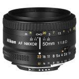 ขาย Import Nikon Af 50Mm F 1 8D F1 8D Lens Black ฮ่องกง