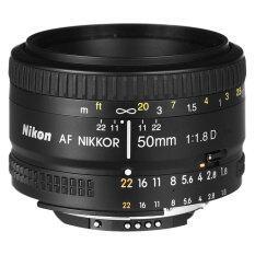 ซื้อ Import Nikon Af 50Mm F 1 8D F1 8D Lens Black ออนไลน์ ถูก