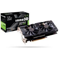 ทบทวน การ์ดจอ Inno3D Gtx1060 Twin X2 6Gb Gddr5