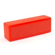ซื้อ Innotech ลำโพงบลูทูธ Mega Bass Bluetooth Speaker Red ถูก