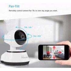 กล้องวงจรปิด IP Camera รุ่น T8610-Q6 Mp and IR Cut WIP HD ONVIF – สีขาว/ดำ แถม ถุงมือ x 1