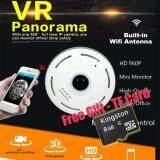 ส่วนลด Ip Wifi Camera 360 Degree Fisheye Lens Panoramic Smart Camera Home Security Cctv Cam Hd Ip Camera 960P Whole View Angle 1 3Mp Intl