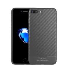 ซื้อ ไฟเบอร์คาร์บอน Ipaky Pattem Tpu ซิลิโคนโทรศัพท์กรณีสำหรับ Iphone ของ Apple 7 Plus ถูก จีน