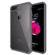 ซื้อ Ipaky Super Series Case For Apple Iphone 6 7 8 Plus เคส ไอปากี้ รุ่นซุปเปอร์ซีรีย์ ไอโฟน หก เจ็ด แปด พลัส หลังใส กันกระแทก ออนไลน์