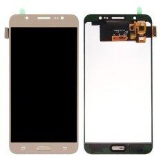 ส่วนลด สินค้า Ipartsbuy For Samsung Galaxy J7 2016 J710 Lcd Screen Touch Screen Digitizer Assembly Gold Intl