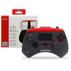 IPEGA JoyStick จอยแพด เกมส์คอนโทรลเลอร์บลูทูธไร้สาย พร้อมระบบทัช รุ่น PG-9028 (สีดำ/แดง)