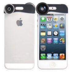 ทบทวน เลนส์ครอบหัว Iphone 5 3 In 1 White