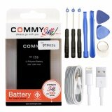 ทบทวน Iphone 5S 5C Battery Commy แบตไอโฟน 5S 5C คอมมี่ ชุดเครื่องมือแกะ สายชาร์ท