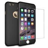 ราคา Iphone 6 Plus 6 วินาทีบวก 5 5 กรณี Mooncase 360 ° ป้องกัน Matte Pc Hard Hybrid Ultra ผอม Case Tempered Glass สำหรับ Apple Iphone 6 Plus 6 วินาทีบวก ใหม่