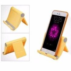 ที่ตั้ง วาง โทรศัพท์สมาร์ทโฟน แท็บเล็ตบนโต๊ะแบบปรับพับได้ สำหรับ Iphone Ipad.
