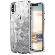 ราคา Iphone X Case Ringke Air Prism Glitter 3D Vogue Design Diamond Pattern Flexible Tpu Cover Dot Matrix Techonology For Apple Iphone X Glitter Clear Intl Ringke ใหม่