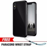 ซื้อ Iphone X Case Ringke Fusion Crystal Clear Pc Back Tpu Bumper Drop Protection Shock Absorption Technology For Apple Iphone X Shadow Black Intl ใหม่ล่าสุด
