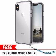 ซื้อ Iphone X Case Ringke ฟิวชั่น Crystal Clear Pc กลับกันชน Tpu ป้องกันการตกกระแทก โช้คอัพเทคโนโลยี สำหรับ Apple Iphone X Smoke Black