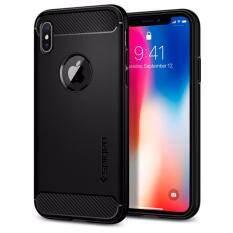 ขาย เคส Iphone X Spigen Rugged Armor Case สี Black ผู้ค้าส่ง