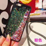 Iphone8 7Plus ซิลิโคนไหลแอปเปิ้ลแฟลชผงเปลือกโทรศัพท์ ใน ฮ่องกง
