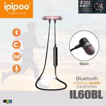iPIPOO หูฟังบลูทูธ รุ่นIL60BL WirelessSport สีชมพู (Pink)