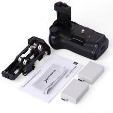 iremax แบตเตอรี่กริป+แบตเตอรี่ 2 ก้อน สำหรับ Canon EOS 550D 600D 650D 700D (สีดำ)