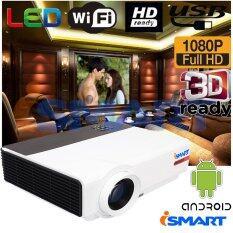 ขาย Ismart หลอด Led 3D Full Hd Smart Projector Wxga Android Wifi รุ่น Vrd808 Black I Smart ผู้ค้าส่ง