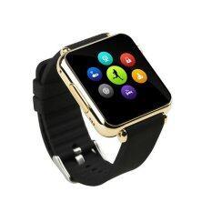 ISMART Smart Watch Phone Hi-End นาฬิกาโทรศัพท์อัจฉริยะ  (สีดำ/ทอง)