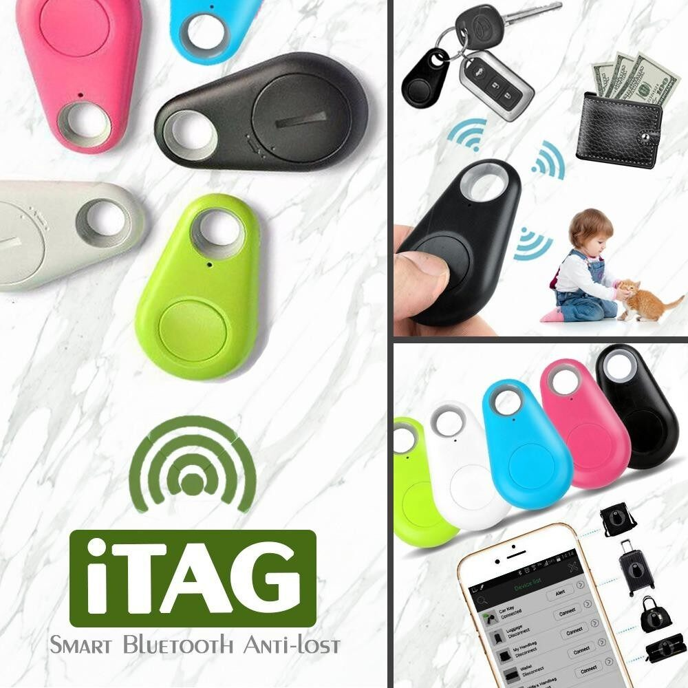 iTAG Smart Bluetooth Trackerพวงกุญแจบลูทูธ พร้อมระบบGPSแทรกกิ้ง