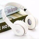 ส่วนลด หูฟังสีสดใส สีขาว พับได้ มีไมค์ รับสาย คุยมือถือได้ แบบครอบหู รุ่น J 03 Total Link ใน Thailand