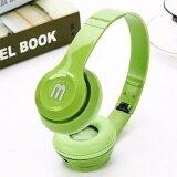 ขาย หูฟังสีสดใส สีเขียว พับได้ มีไมค์ รับสาย คุยมือถือได้ แบบครอบหู รุ่น J 03 Total Link ออนไลน์