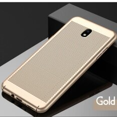 ราคา J7 Pro Case Qzhi Ultra Thin Durable Breathing Holes Heat Transfer Hard Pc And Soft Metal Paint Phone Case For Sam Sung Galaxy J7 Pro Intl Bc เป็นต้นฉบับ