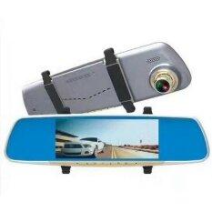 JA กล้องกระจกติดรถยนต์ พร้อมกล้องหลัง 3 in 1 ระบบสัมผัส 7.0